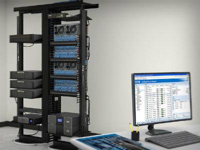 Bộ lưu điện dự phòng UPS được sử dụng rộng rãi trong đời sống và sản xuất.