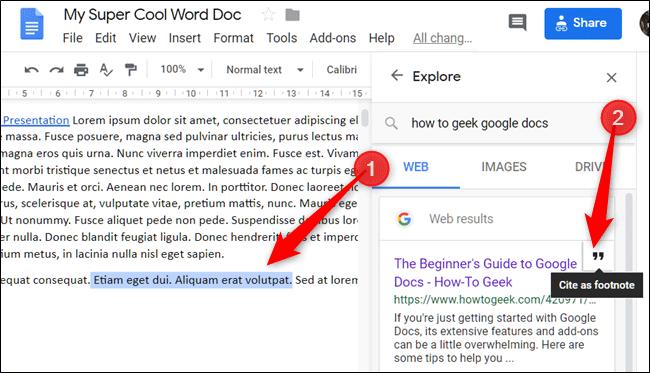 Cách tìm và thêm trích dẫn trong Google Docs - Ảnh minh hoạ 5