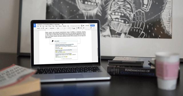 Cách tìm và thêm trích dẫn trong Google Docs
