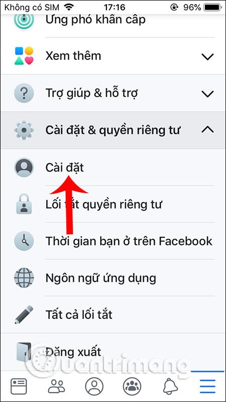 Cách bật, tắt thông báo Facebook chung trên điện thoại - Ảnh minh hoạ 2