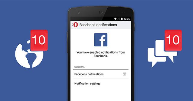 Cách bật, tắt thông báo Facebook...