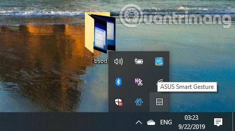 Trên PC, bạn có thể truy cập liên kết từ xa trên khay hệ thống