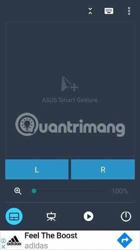Sau khi thấy màn hình cử chỉ thông minh, bạn có thể bắt đầu điều khiển PC/máy tính xách tay bằng nút nguồn