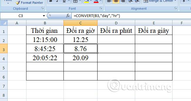 Cách chuyển đổi thời gian trong Excel - Ảnh minh hoạ 12