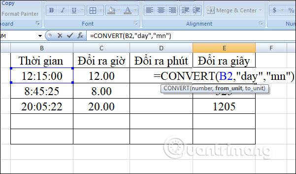 Cách chuyển đổi thời gian trong Excel - Ảnh minh hoạ 14