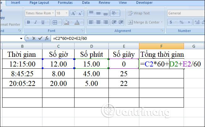 Cách chuyển đổi thời gian trong Excel - Ảnh minh hoạ 18