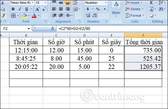 Cách chuyển đổi thời gian trong Excel - Ảnh minh hoạ 19