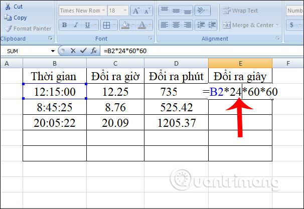Cách chuyển đổi thời gian trong Excel - Ảnh minh hoạ 9