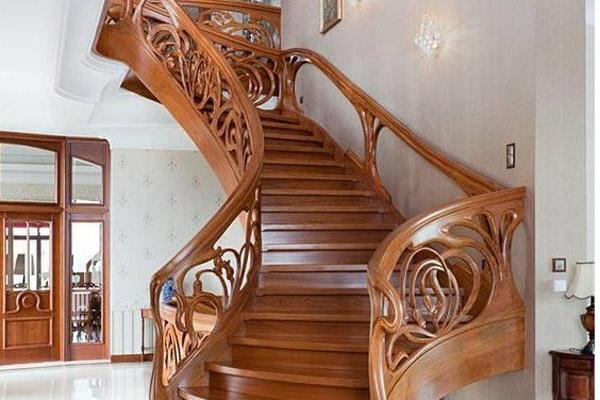 Cầu thang gỗ đẹp 3