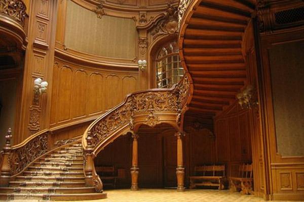 Cầu thang gỗ đẹp 6