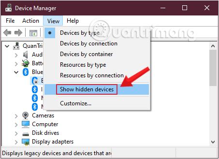 Hiển thị toàn bộ các chức năng hỗ trợ trên thiết bị của bạn