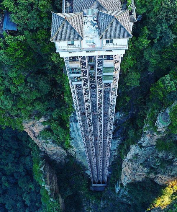 Thang máy ngoài trời cao nhất thế giới