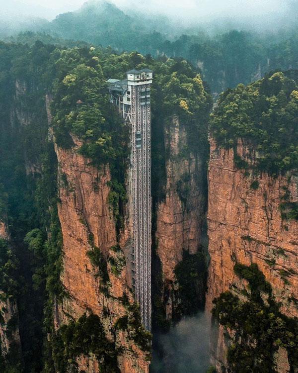 Hệ thống này có tổng chiều cao lên tới 335m