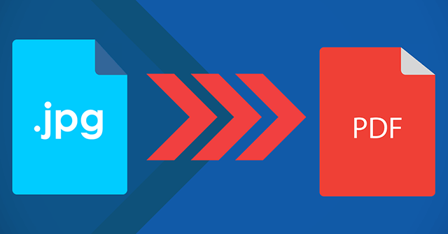 5 cách chuyển file ảnh JPG sang PDF