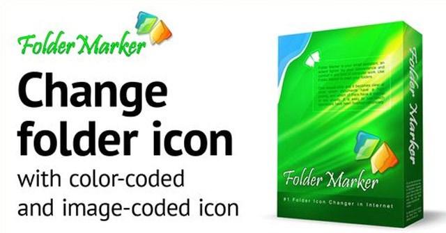 Mời tải Folder Marker (24.95 USD) - Công cụ đổi màu thư mục cực đẹp trên Windows đang miễn phí