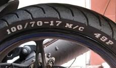 Giải mã ký hiệu trên lốp xe máy