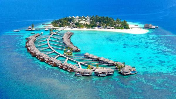Diện tích lãnh thổ của Maldives gồm 1.192 đảo nhỏ