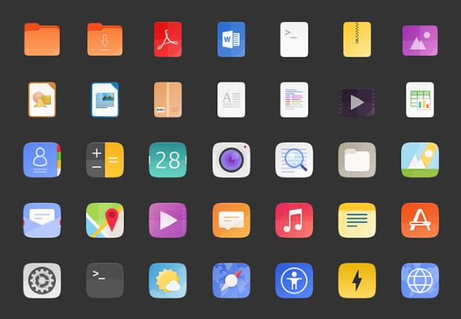 Bộ biểu tượng hoàn toàn mới của Ubuntu 18.04