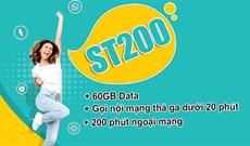 Cách đăng ký gói cước ST200 Viettel