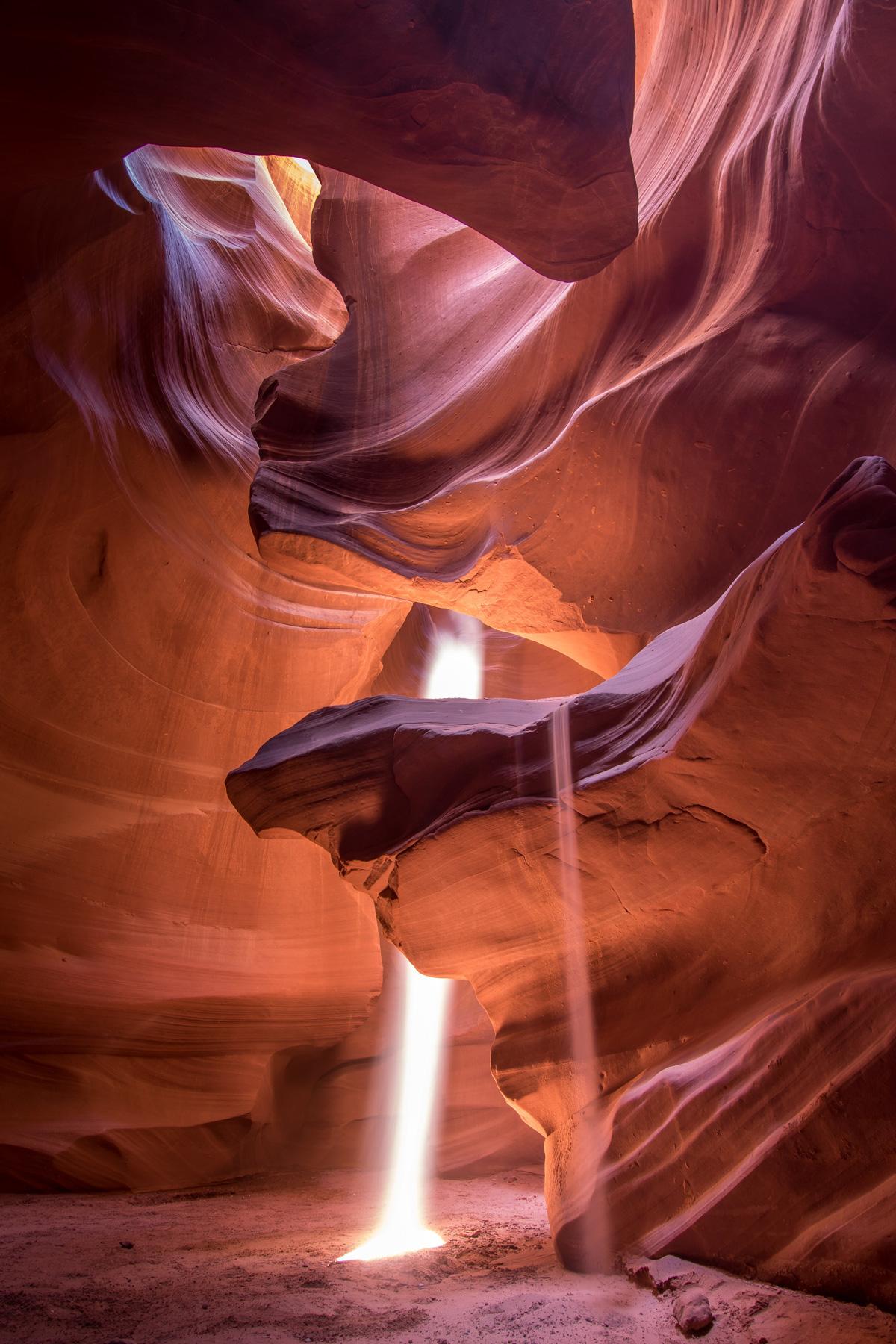 Antelope Canyon - Show ánh sáng trên trái đất