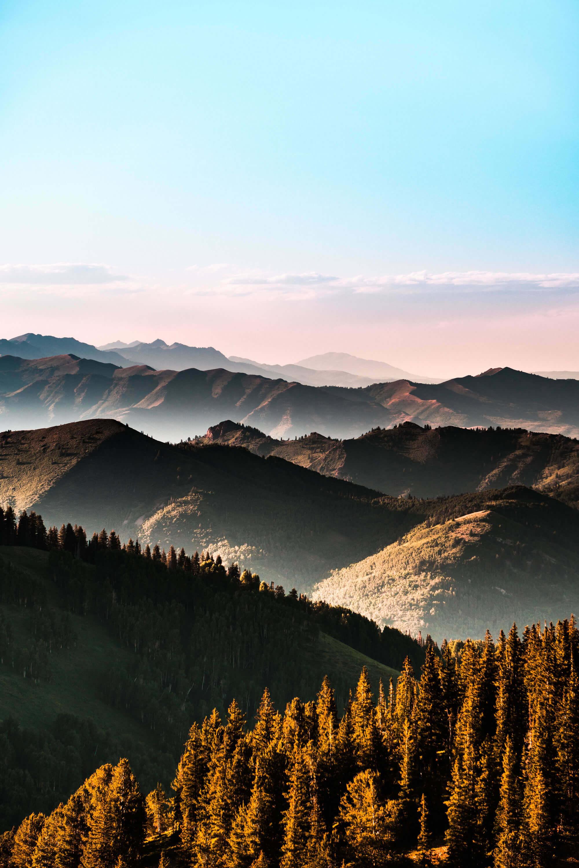 Dãy núi Wasatch ở Alta, Utah