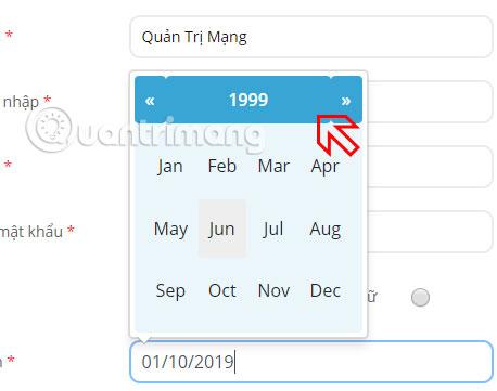 thông tin đăng ký tài khoản trạng nguyên tiếng việt