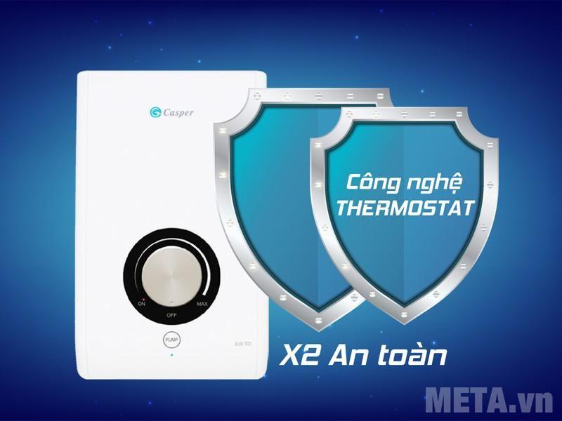 máy nước nóng trực tiếp Casper