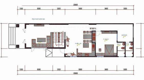 Tầng trệt nhà cấp 4 có gác lửng 3 phòng ngủ 5x20m
