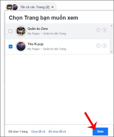 Cách liên kết Fanpage Facebook với Instagram