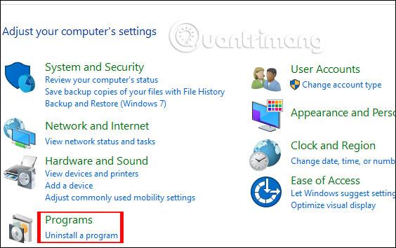 Cách gỡ Avast Free Antivirus trên máy tính