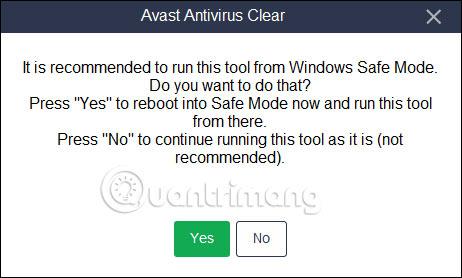 Cách gỡ Avast Free Antivirus trên máy tính - Ảnh minh hoạ 4