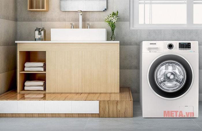 máy giặt cửa ngang samsung 8kg ww80j42g0bw
