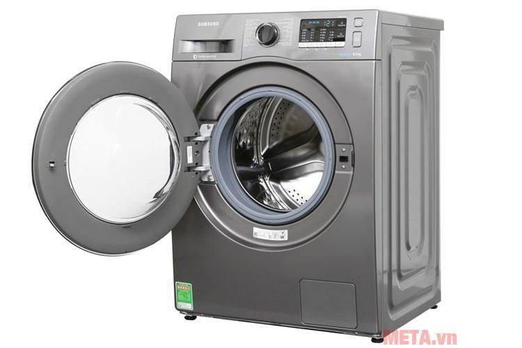 máy giặt samsung cửa ngang ww80j54e0bx-sv 8kg