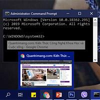 Cách mở và chạy cmd với quyền Admin trên Windows