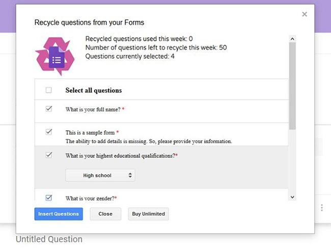 Cách tái sử dụng và kết hợp Google Forms với FormRecycler - Ảnh minh hoạ 8