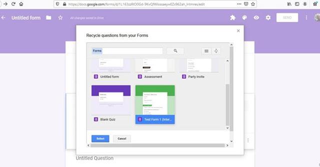 Cách tái sử dụng và kết hợp Google Forms với FormRecycler