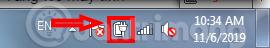 Nhấp chuột vào Adjust screen brightness
