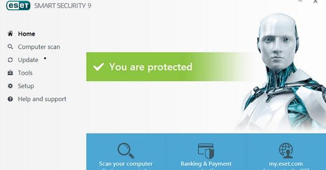 Miễn phí bản quyền phần mềm diệt Virus ESET hàng tháng cho PC và Android
