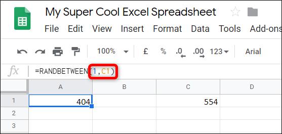 Cách tạo số ngẫu nhiên trong Google Sheets - Ảnh minh hoạ 3
