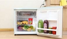 Tủ lạnh mini có tốn điện không? Mẹo hay dùng tủ lạnh mini tiết kiệm điện