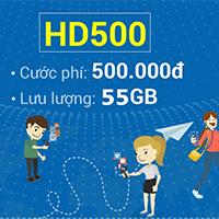 Cách đăng ký gói cước HD500 Mobifone nhận 55GB data 4G