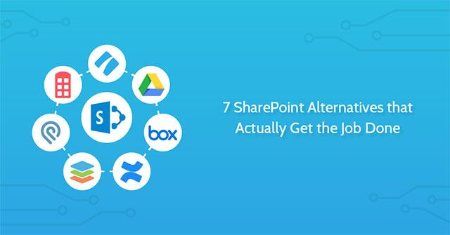7 lựa chọn thay thế miễn phí tốt nhất cho Microsoft Sharepoint