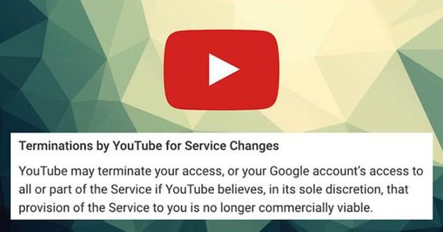 Thông tin 'YouTube khóa tài khoản người dùng nếu chặn quảng cáo' là sai sự thật