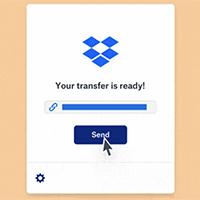 Cách dùng Dropbox Transfer gửi file trực tuyến