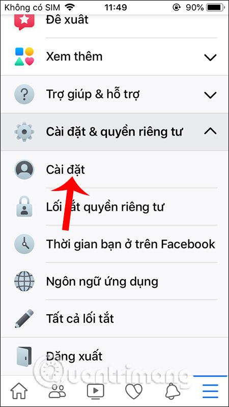 Cách tắt dấu chấm thông báo trên Facebook - Ảnh minh hoạ 2