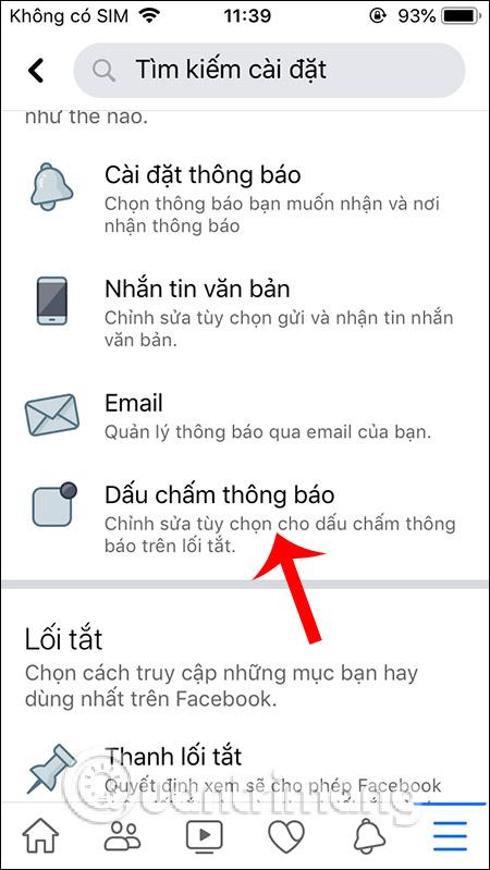 Cách tắt dấu chấm thông báo trên Facebook - Ảnh minh hoạ 3