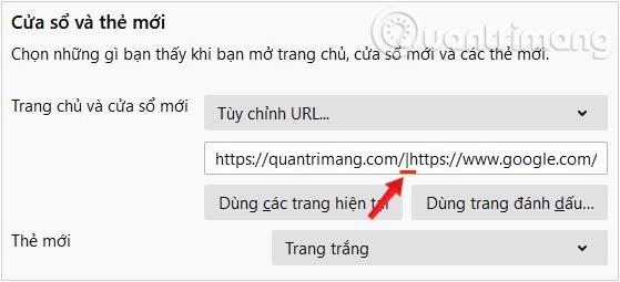 Mở nhiều trang web khi trình duyệt bắt đầu khởi động - Ảnh minh hoạ 8