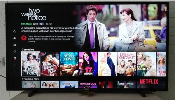 Hiện nay có có tivi thông minh và Netflix