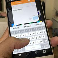 4 biểu tượng và bàn phím lớn cho Android thân thiện với người lớn tuổi