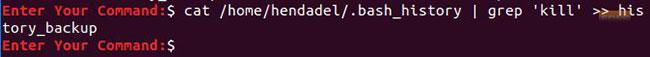 """Sử dụng lệnh grep, cùng với biểu tượng """">"""" hoặc """">>"""""""